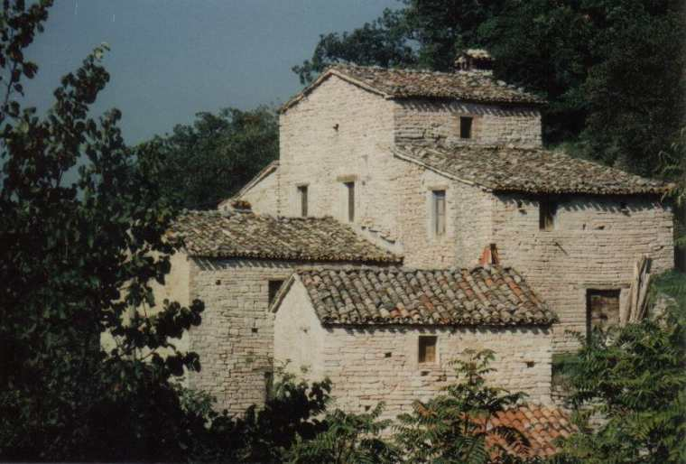 Country house property Cagli